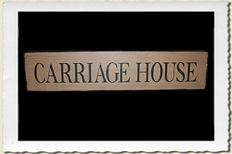 Carriage House Sign Stencil by Primitive Designs Stencil Co.