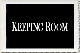 Keeping Room Sign Stencil